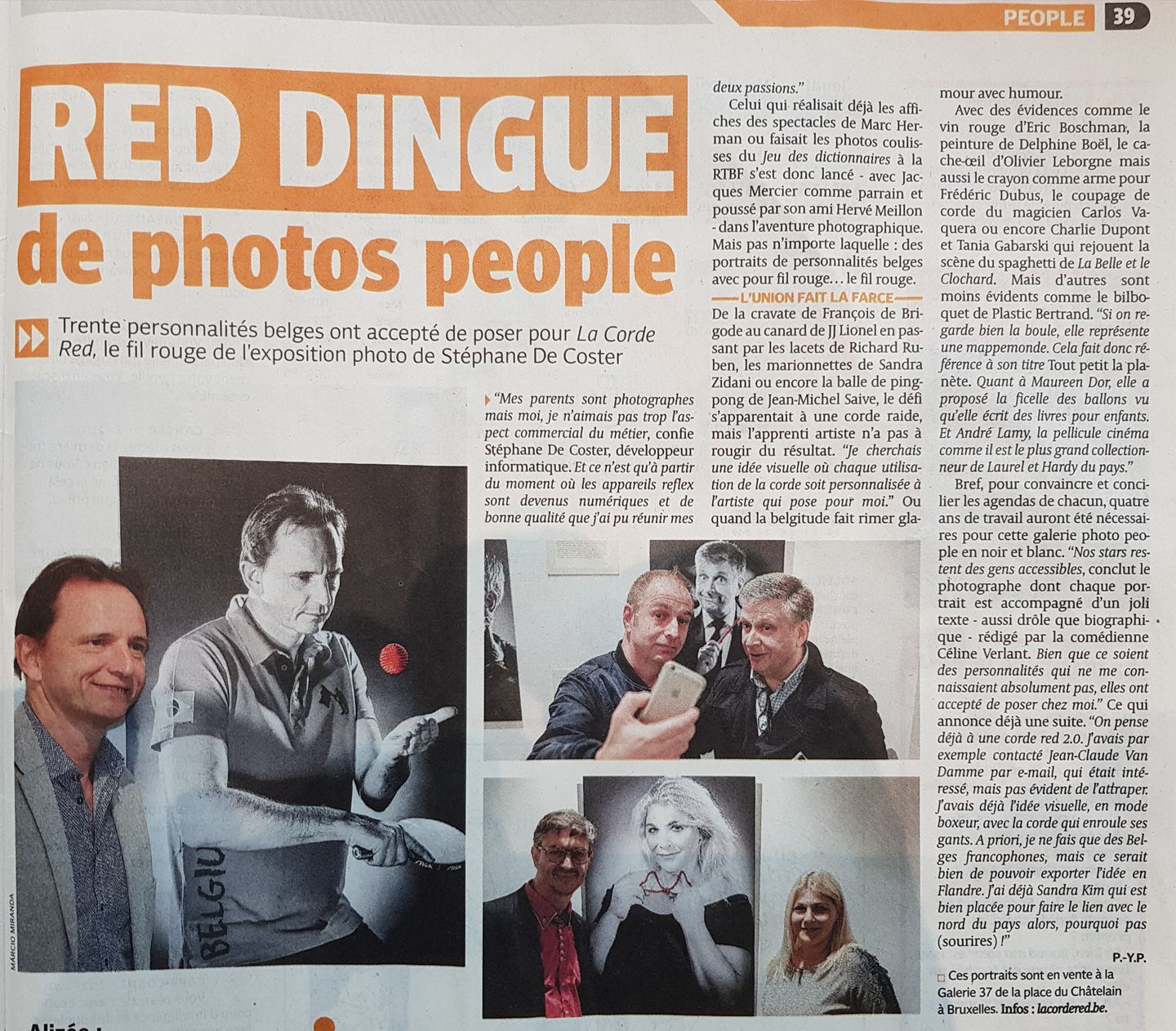 RED DINGUE de photos people